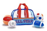 Fill and Spill Sports Bag and Balls