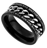 Strength Chain Ring , Size 10 (Isaiah 40:31)