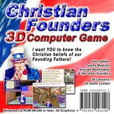 Christian Founders Computer Game (Access Code Only)