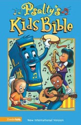 NIV (1984) Psalty's Kids Bible, Revised--hardcover