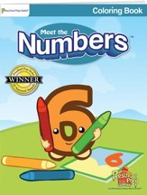 Meet the Numbers Coloring Book