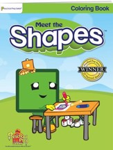 Meet the Shapes Coloring Book