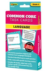 Common Core Language Task Cards, Grade 5