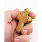 Comfort Olive Wood Cross, Small
