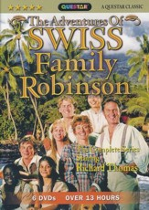 The Adventures of Swiss Family Robinson, 6 DVDs