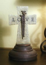 Love, Nail Standing Cross