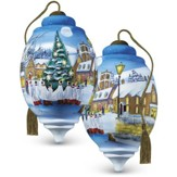 Christmas Choir Glass Ornament