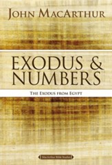 Exodus & Numbers, MacArthur Bible Studies - Slightly Imperfect