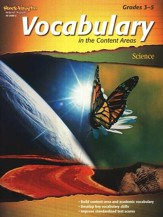 Vocabulary in the Content Areas, Science Grade 3-5