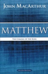 Matthew, MacArthur Bible Studies