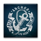 Anchor, My Soul Canvas Wall Art