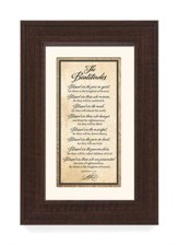 The Beatitudes Framed Art