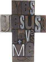 Yes Jesus Loves Me Cross