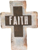 Faith Standing Cross