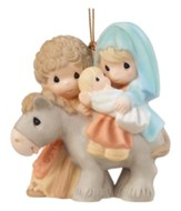 Precious Moments Holy Family Nativity Ornament