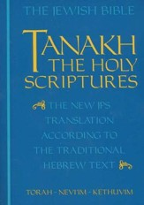 Tanakh: The Holy Scriptures, Paper Edition - Slightly Imperfect
