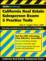 CliffsTestPrep California Real Estate Salesperson Exam: 5 Practice Tests