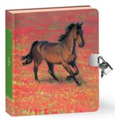Wild Horse, Lock and Key Diary