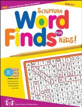 Scripture Word Find for Kids Puzzle Book