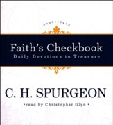 Faith's Checkbook: Daily Devotions to Treasure - unabridged audiobook on CD