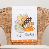 Thankful Turkey Tea Towel