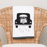 Just Married Tea Towel