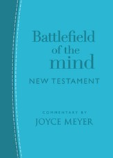 Battlefield of the Mind New Testament--soft leather-look, arcadia blue