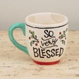 So Very Blessed Jumbo Mug