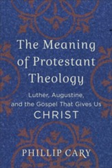 The Meaning of Protestant Theology: Luther, Augustine, and the Gospel That Gives Us Christ