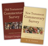 Old Testmant and New Testament Commentary Survey, 2-Pack
