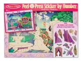 Fairytale Princess, Peel and Press Sticker by Number