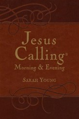 Jesus Calling--Morning & Evening Devotional (slightly imperfect)
