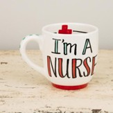 I'm A Nurse, What's Your Super Power Jumbo Mug