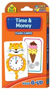 Time & Money, Math Flash Cards
