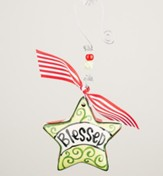 Blessed Star Puff Ornament