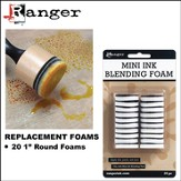 Mini Ink blending Replacement Foams 1 Round