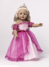 Princess Doll with Tiara, Pink