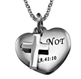 Fear Not, Sweetheart Necklace