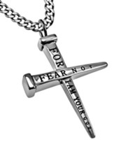 Fear Not Nail Cross Necklace