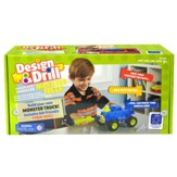 Design & Drill, Power Play Vehicles Monster Truck