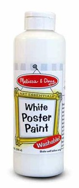 White Poster Paint, 8 oz.
