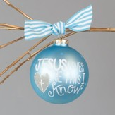 Jesus Loves Me Ornament, Boy