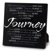 Journey Tabletop Plaque