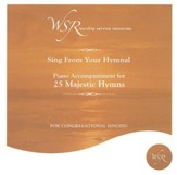 25 Majestic Hymns, Acc CD