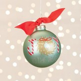 Joy To the World Wreath Ornament
