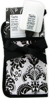 Taste and See Gift Set, Black and White