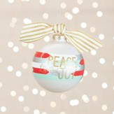 Peace, Love, and Joy Ornament