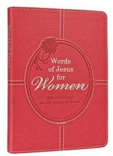 Words of Jesus For Women, Pink Imitation Leather