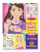 Jewelry and Nails Glitter Collection Stickers