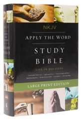 NKJV Apply the Word Study Bible, hardcover